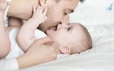 15 façons pour le papa (ou second-parent) de créer du lien avec son bébé
