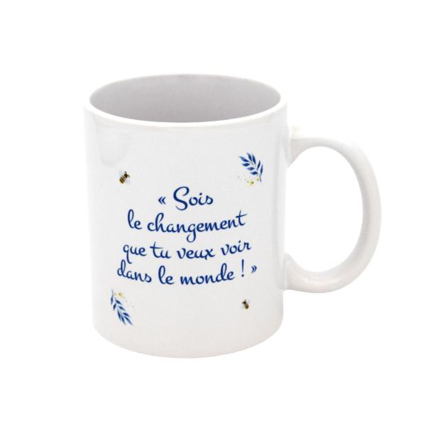 Tasse blanche VanillaMilk / dos