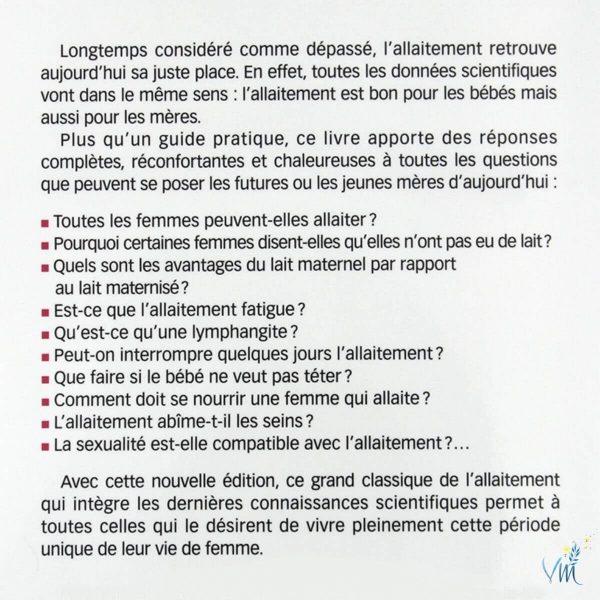 Sommaire L'allaitement - M. Thirion