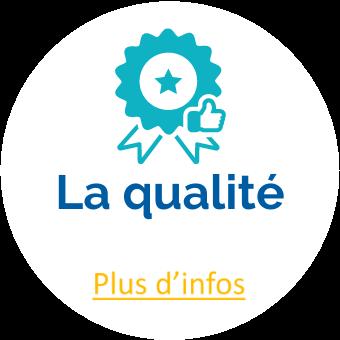 Picto d'un badge de qualité