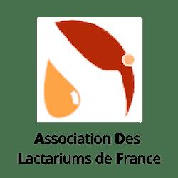 Logo Association Française des Lactariums de France ADLF